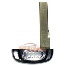 Лезвие вставка смарт ключа Ауди A4, A5, A6, A7, A8, Q5 (Audi A4, A5, A6, A7, A8, Q5) | 2008-2019 | HU66 | малая
