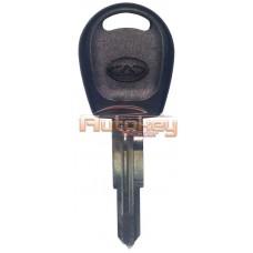 Заготовка ключа Чери Амулет (Chery Amulet) | Под чип