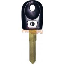Ключ для Дукати (Ducati) KW17 | под чип | черный