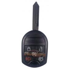 Ключ для Форд Эксплорер (Ford Explorer) FO38 | ID: 63-6F | 434mHz Европа | 5 кнопок Автозапуск | 2013 - | Оригинал