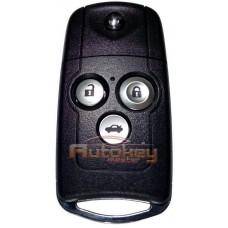 Выкидной ключ для Хонда Аккорд (Honda Accord) | PCF 7936 | HON66 | 3 кнопки | 433MHz Европа | 2007-2012 | Оригинал