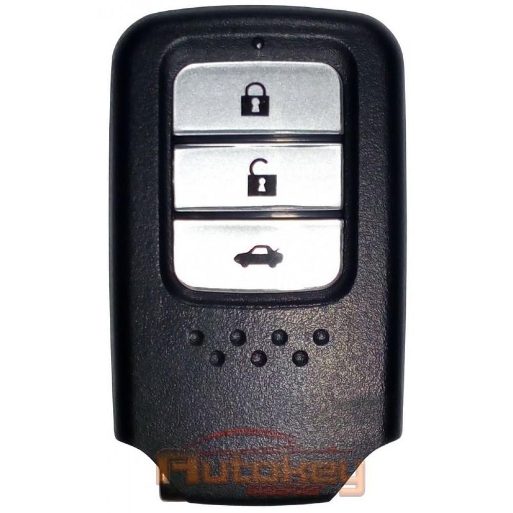 Смарт ключ для Хонда Аккорд, ЦР-В (Honda Accord, CR-V) 3 кнопки | Hitag3 | 433MHZ | 2012- | Оригинал