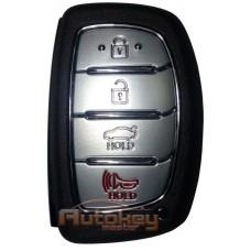Смарт ключ для Хундай I40 (Hyundai I40)   2011-2015   433.92mHz   4 кнопки   Оригинал