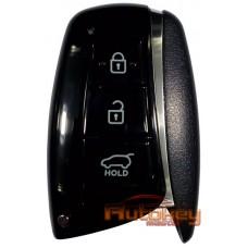 Смарт ключ для Хундай ix45, Санта Фе (DM), Гранд Санта Фе (B8) (Hyundai ix45, Santa Fe (DM), Grand Santa Fe (B8)) pcf7952   434mHz   3 кнопки   2012-
