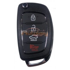 Выкидной ключ Хендай i40 (Hyundai i40) | 2011-2015 | SEKSHG10BTx | 4D60x80 | 433MHz Европа | 4 кнопки | Оригинал