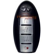Смарт ключ Инфинити G (Infiniti G) | 12.2006-12.2008 | 433MHz Европа | 4 кнопки | Оригинал