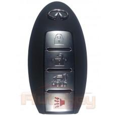 Смарт ключ Инфинити QX56, QX80 (Infiniti QX56, QX80) | 03.2010-10.2012 | 433MHz Европа | 4 кнопки | Оригинал
