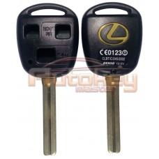 Корпус ключа Лексус LX, RX (Lexus LX, RX) | 1998-2008 | TOY40 (TOY48/46mm) | 3 кнопки
