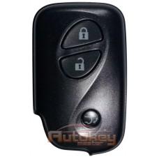 Смарт ключ Лексус LX570 (Lexus LX570) | 11.2007-09.2015 | MDL B77EA | 433MHz Европа | 3 кнопки | Оригинал