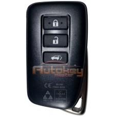Смарт ключ Лексус NX, LX, RC F (Lexus NX, LX, RC F) | 2014-2021 | MDL BG1EW | 433MHz Европа | 3 кнопки | Оригинал