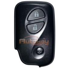 Смарт ключ Лексус GX460 (Lexus GX460) | 2009-2019 | MDL B74EA | 433MHz Европа | 3 кнопки | Оригинал