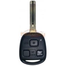 Ключ Лексус RX (Lexus RX) | 02.2003-12.2008 | 89070-48881 | 4D68 | TOY48 | 433MHz Европа | 3 кнопки | Оригинал