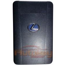 Смарт карта Лексус LX, LS, IS, GS (Lexus LX, LS, IS, GS) | 2008-2015 | MDL 14АEC | P1=98 | Синяя Эмблема | б\у | Оригинал