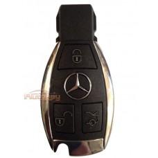 "Ключ для Mercedes, Мерседес ""хромированная рыбка""  | FBS3 | 3 кнопки | 433MHz Европа | Запись через IR-порт"
