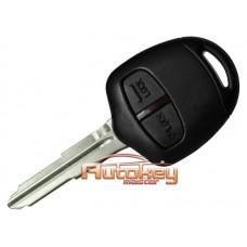 Ключ для Митсубиси Аутлендер, Лансер, ASX (Mitsubishi Outlander, Lancer, ASX) MIT11 | PCF7936 | 433MHz Европа | 2 кнопки | Оригинал