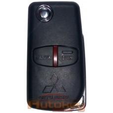 Выкидной ключ для Митсубиси Аутлендер, Лансер, ASX (Mitsubishi Outlander, Lancer, ASX) MIT11 | ID46 | 433MHz Европа | 2 кнопки