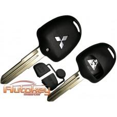 Ключ для Митсубиси ( Mitsubishi ) MIT11 | корпус | 2 кнопки