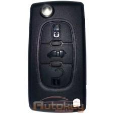 Выкидной ключ для Пежо Партнер, Партнер TEPEE (Peugeot PARTNER, PARTNER TEPEE (B9)) VA2 | PCF7941 | 433MHz | 3 кнопки | 2008 - | Оригинал