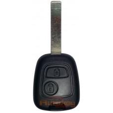 Ключ для Пежо 307 (Peugeot 307) HU83 | pcf7936 | 434MHz | 2 кнопки | 2001-2004 | Оригинал