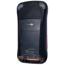 Выкидной ключ для Порше Кайенн (Porsche Cayenne) PCF7946 | HU66 | 315MHz Америка | 3 кнопки