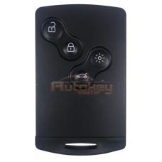 Ключ карта для Рено Колеос (Renault Koleos) PCF7952 | 433MHz | 4 кнопки