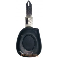 Инфракрасный ключ для Рено Меган Сценик (Renault Megane Scenic) 433MHz | 1 кнопка | Оригинал