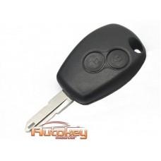 Ключ Рено (Renault) NE72 | PCF 7946 | 433MHz | 2 кнопки