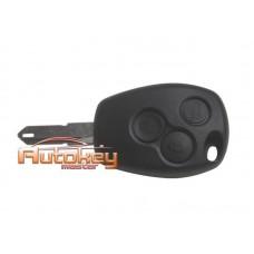 Ключ Рено (Renault) NE72 | PCF 7947 | 433MHz | 3 кнопки
