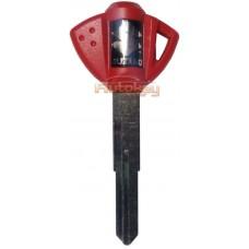 Ключ для мотоцикла Сузуки (Suzuki) SZ17 (52mm) | Под чип | Красный