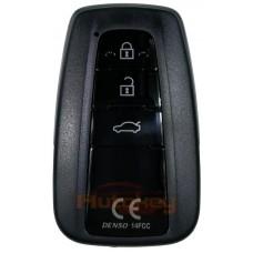 Смарт ключ для Тойота Камри (Toyota Camry) 3 кнопки | DENSO 14FCC | 434MHz | 05.2018- | Оригинал