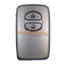 Смарт ключ для Тойота Ленд Крузер 200 (Smart key, Toyota Land Cruiser 200) 2 кнопки | P1:98 | MDL B53EA | 433MHz Европа | 2008 - 2010