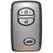 Смарт ключ Тойота Камри (Toyota Camry) | 01.2009-12.2009 | MDL B53EA | 433MHz Европа | 3 кнопки | Оригинал