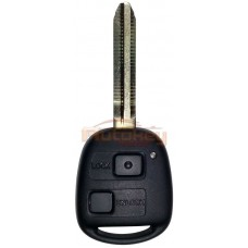 Ключ Тойота Ленд Крузер Прадо, FJ Крузер (Toyota Land Cruiser Prado, FJ Cruiser) | 2004-2010 | 4D-ID67 master | TOY43 | 433MHz Европа | 2 кнопки | Оригинал