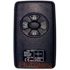 Смарт ключ для Тойота Королла ( Toyota Corolla ) 3 кнопки | MDL B90EA | 434MHz Европа | 2010-2013 | Оригинал